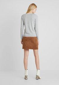 Esprit - MINI SKIRT - A-line skirt - toffee - 2