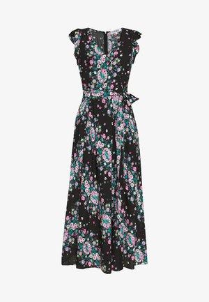 ISLA - Day dress - lilac/black