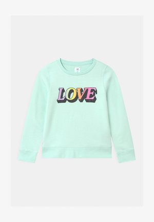 GIRL DOORBUSTER CREW - Sweater - soft jade