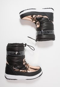 Moon Boot - GIRL SOFT WP - Winter boots - black/copper - 0