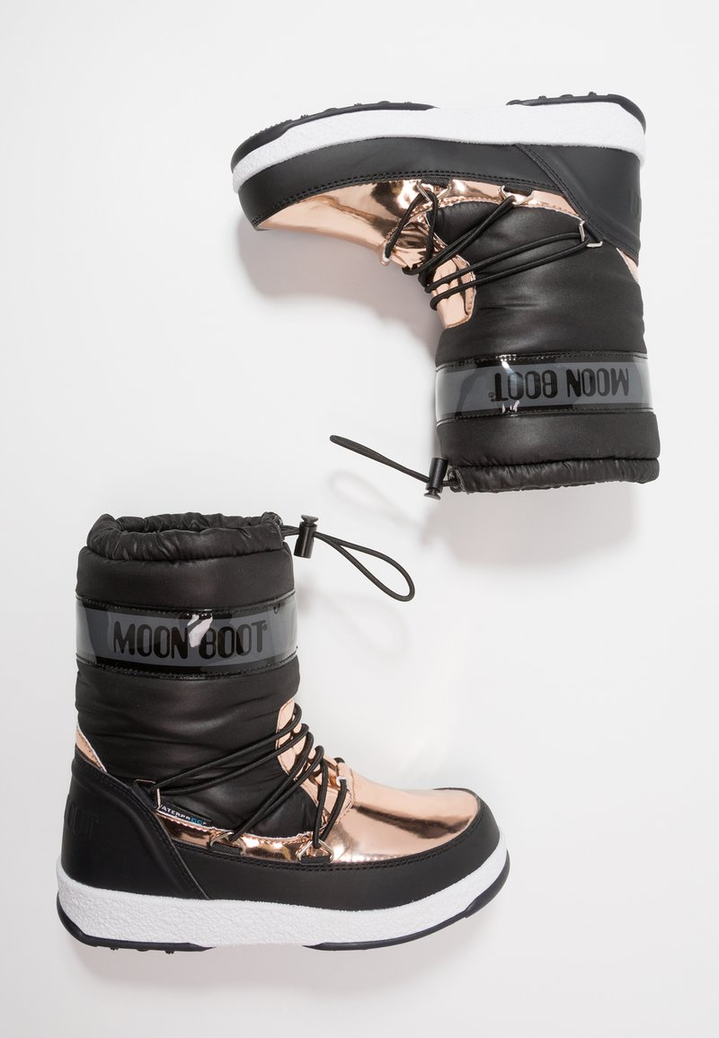 Moon Boot - GIRL SOFT WP - Winter boots - black/copper