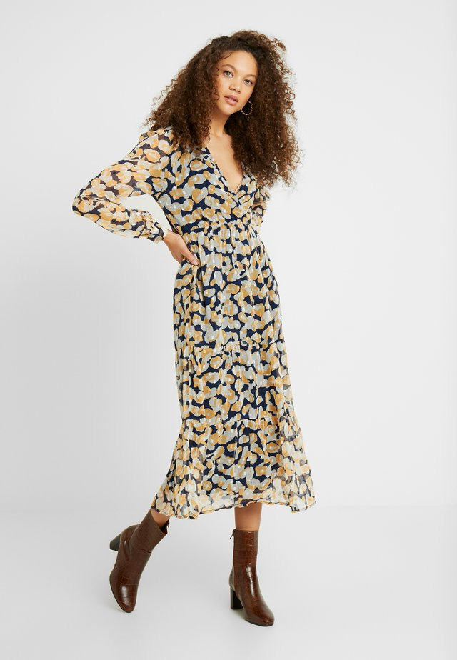 OBJINGRID WRAP DRESS - Sukienka letnia - sky captain