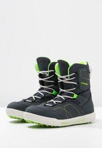 Lowa - RAIK GTX UNISEX - Winter boots - navy/limone - 2