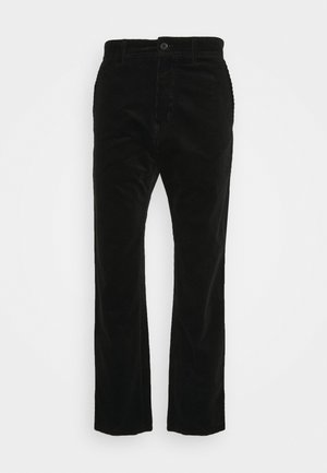 MENSON PANT BARRINGTON - Trousers - black rinsed