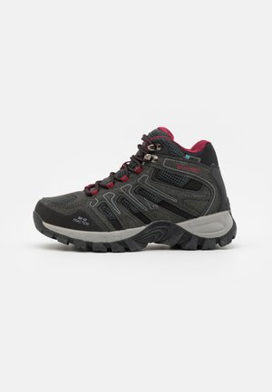 TORCA MID WP WOMENS - Hiking shoes - charcoal