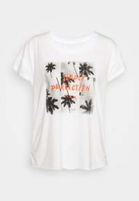 Roxy - LIKE I DO - Print T-shirt - snow white - 4