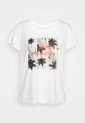 LIKE I DO - T-shirt z nadrukiem - snow white