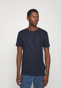 JOOP! - CHANNING - Print T-shirt - dark blue - 0