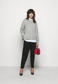Bruuns Bazaar - RUBINE - Sweatshirt - light grey melange - 1