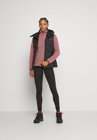 CMP - WOMAN JACKET - Fleecejacke - red fluo/antracite - 1