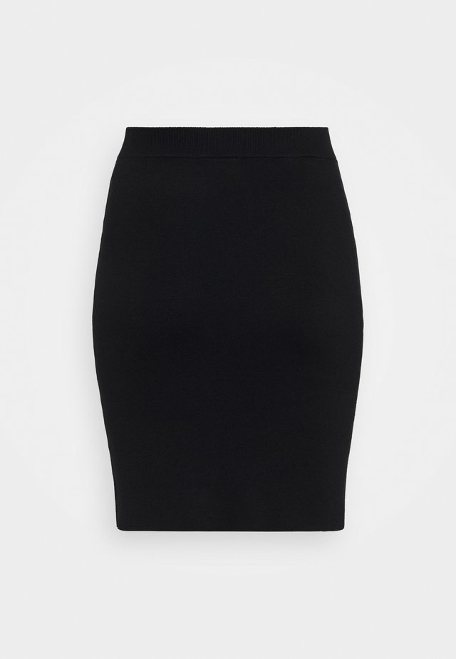 KITY SKIRT - Pennkjol - black deep