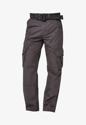 TECH - Cargo trousers - grey