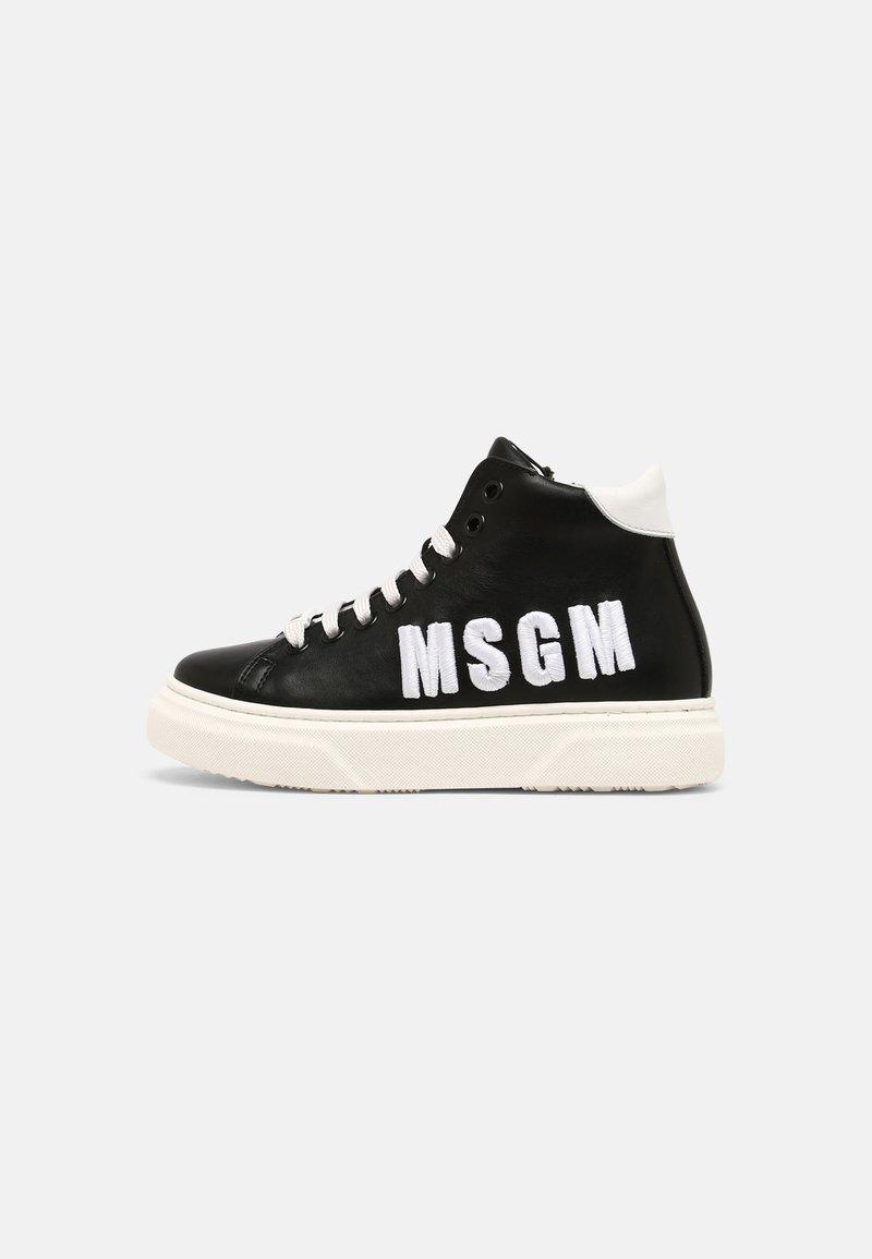 MSGM - UNISEX - High-top trainers - black