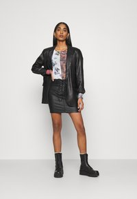 NEW girl ORDER - SPLICED PATCHWORK - Long sleeved top - multi - 1