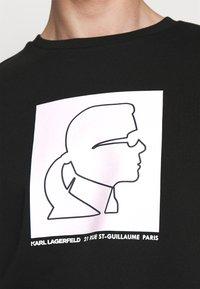 KARL LAGERFELD - Sweatshirt - black/white - 4