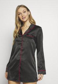 LingaDore - Noční košile - black - 0