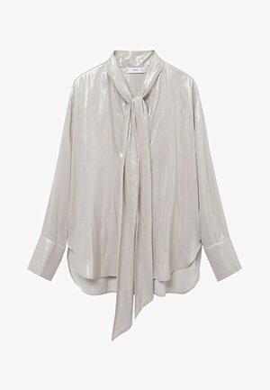 MIT SCHLEIFE - Košile - beige