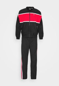 Tracksuit - black/red/white