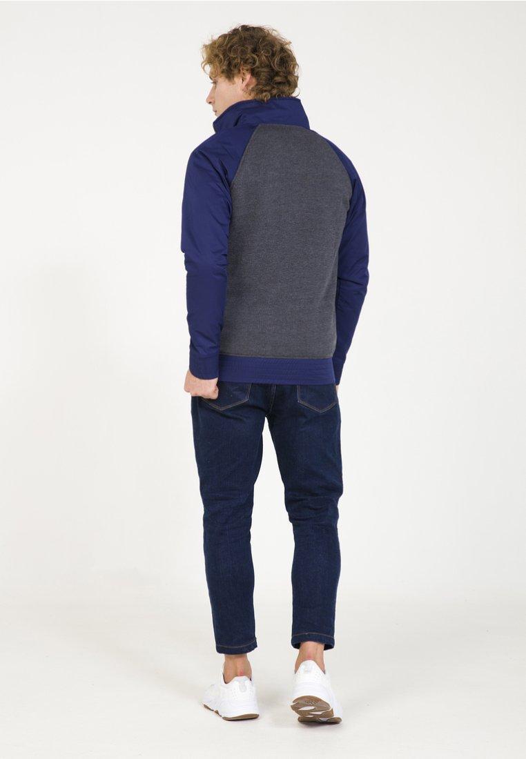 PLUS EIGHTEEN Collegetakki - mottled dark blue iyJ4P