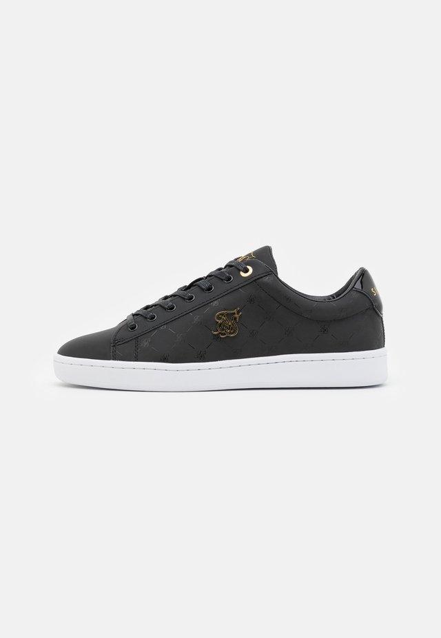 ELITE MONOGRAM REFLECTIVE - Sneakers laag - black