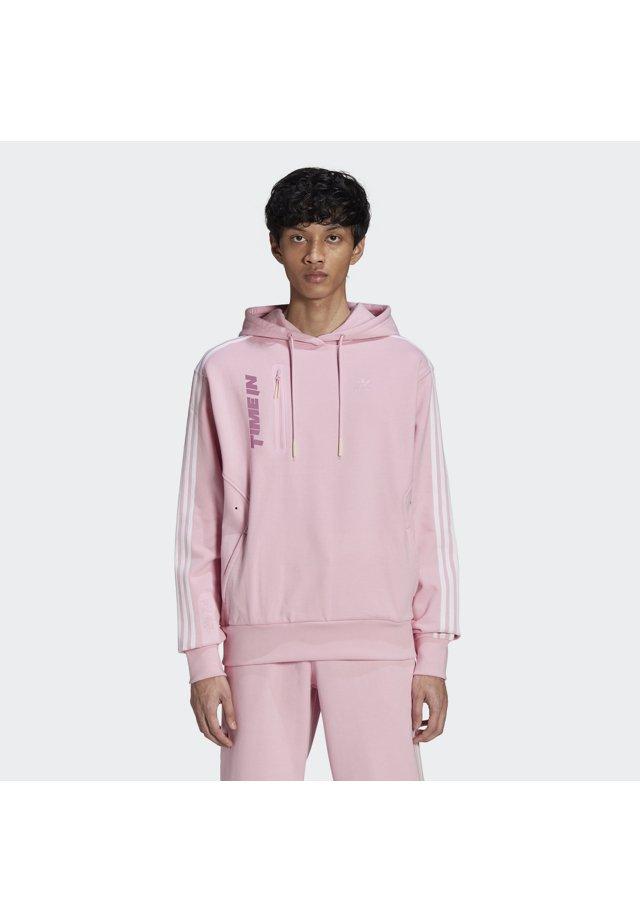 adidas Originals - NINJA HOODIE UNISEX - Felpa - true pink