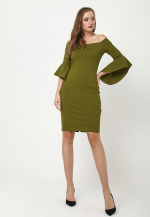SABINA - Jersey dress - khakifarben