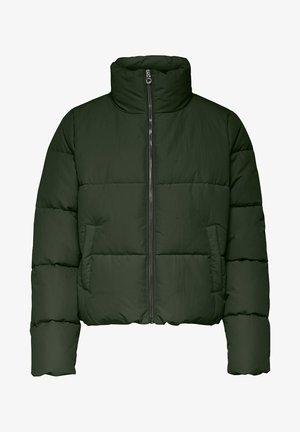 ONLDOLLY SHORT PUFFER JACKET  - Winter jacket - rosin