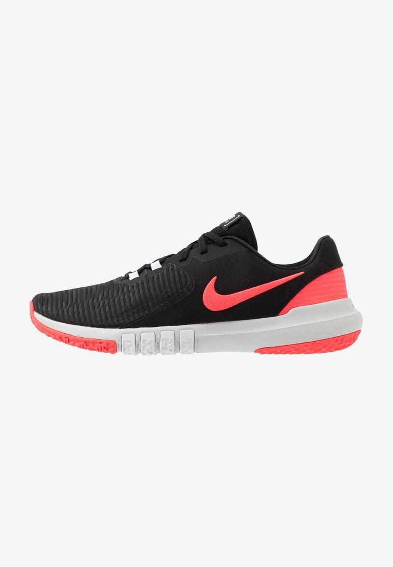 Nike Performance - FLEX CONTROL TR4 - Sports shoes - black/laser crimson/white/photon dust