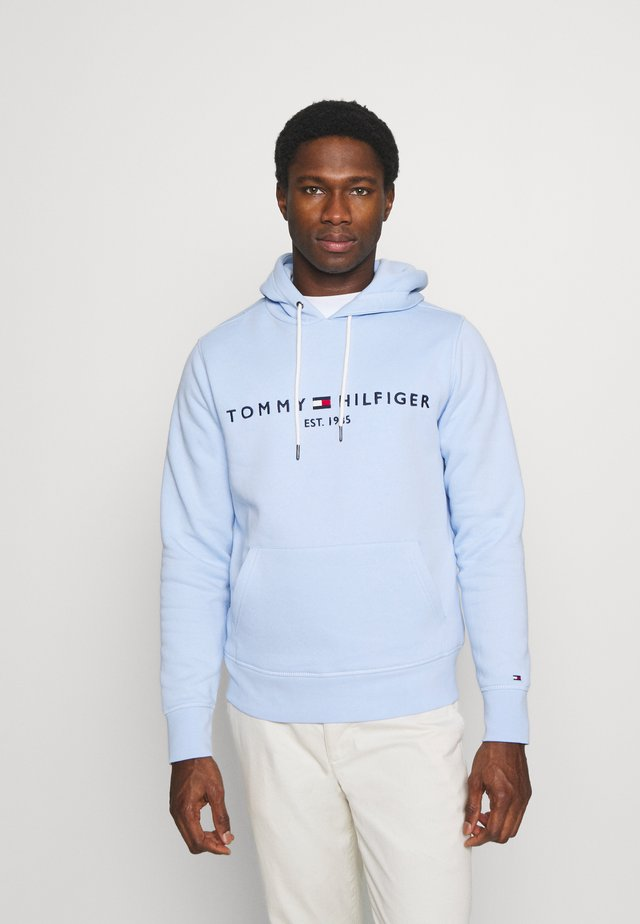 LOGO HOODY - Sweat à capuche - sweet blue