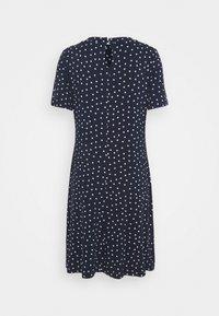 Marks & Spencer London - SPOT SWING - Žerzejové šaty - dark blue - 1