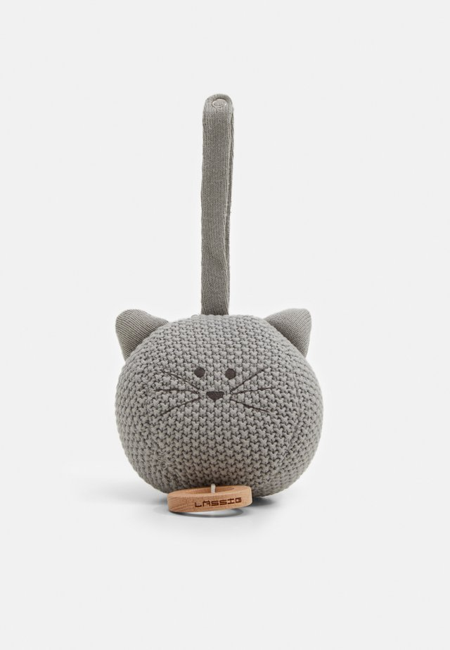 MUSICAL LITTLE CHUMS MOUSE UNISEX - Carillon - grey