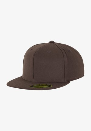 PREMIUM FITTED - Kšiltovka - brown