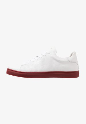 SLHDAVID TRAINER - Sneakersy niskie - scarlet sage