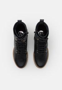 mtng - CASIO - Šněrovací kotníkové boty - black - 5