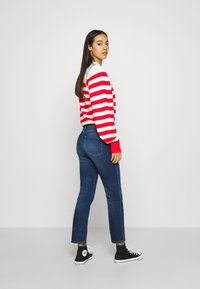 Scotch & Soda - LOOSE FITTED PULLOVER IN SPECIAL BRETON - Svetr - off white/red - 2