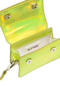 myMo ATHLSR - MINI-TASCHE - Handbag - grün holo - 3