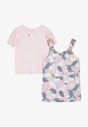 2 PACK - Denim dress - pink