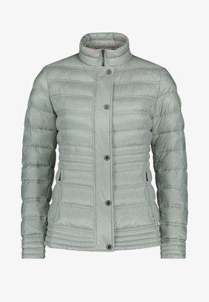 Winterjas - aqua gray