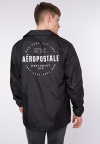 AÉROPOSTALE - Light jacket - black - 3