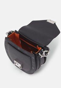 MCM - PATRICIA VISETOS SHOULDER MINI - Handbag - black - 3