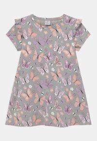 Lindex - MINI - Print T-shirt - light grey - 0