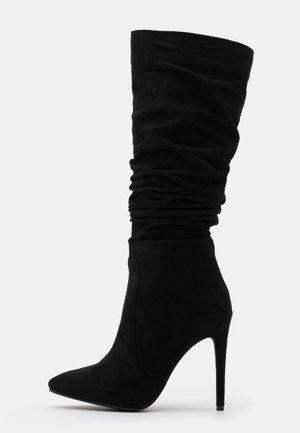 SELAH - Boots med høye hæler - black