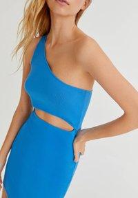 PULL&BEAR - Shift dress - blue - 3