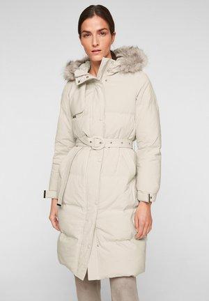 KUNSTPELZ - Down coat - beige