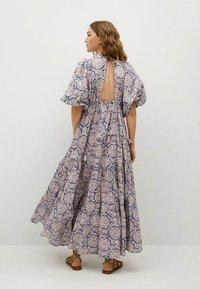 Mango - Długa sukienka - bleu - 1