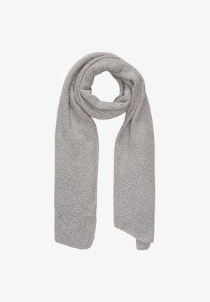 Scarf - grey knit