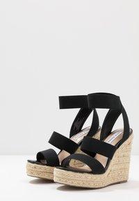 Steve Madden - SHIMMY - High heeled sandals - black - 4