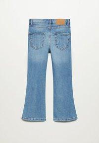 Mango - Flared Jeans - middenblauw - 1