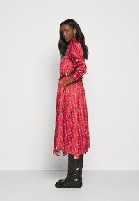 Mulberry - TERI DRESS - Sukienka koszulowa - medium red - 5