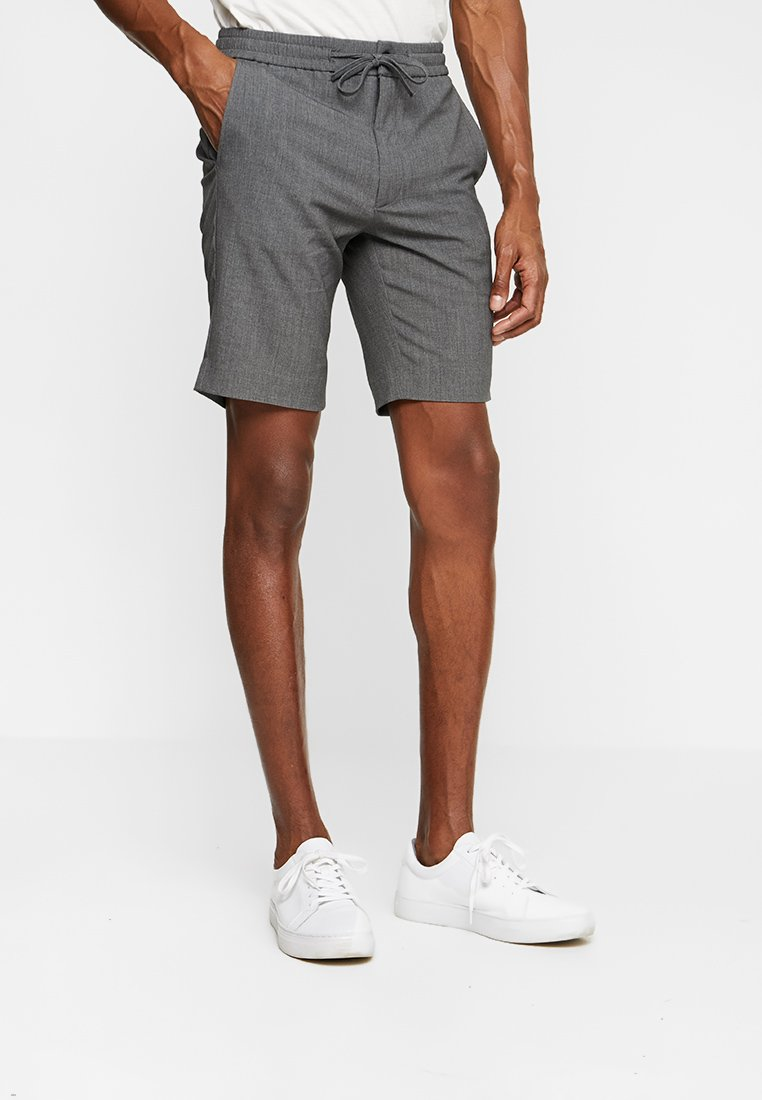 Lindbergh - RELAXED SUIT - Shorts - grey mix